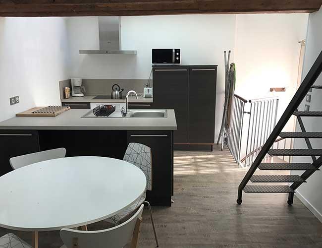 Découvrez l'appartement duplex en détail